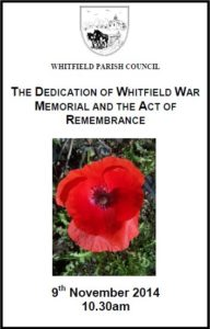 Order Of Service Cover 1